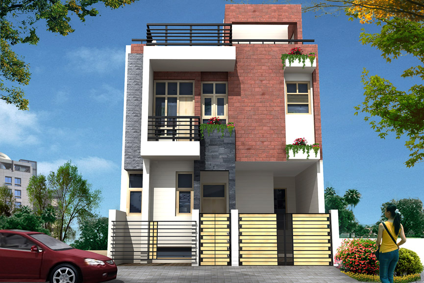 nisha creatives On house elevation photos